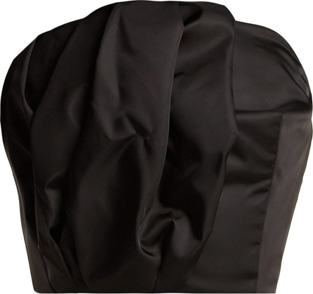 Prada Gabardine strapless bustier top