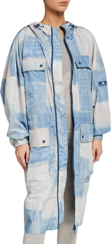 Adidas By Stella McCartney Printed Parka Jacket