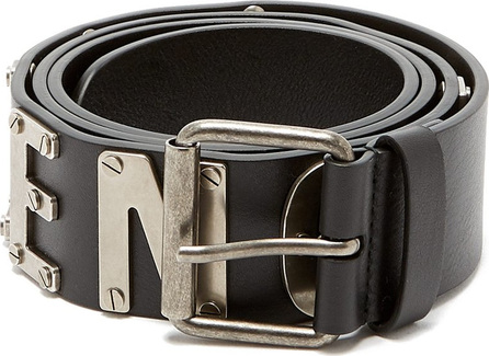 Balenciaga Logo leather belt