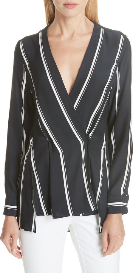 Rag & Bone Debbie Stripe Silk Blouse