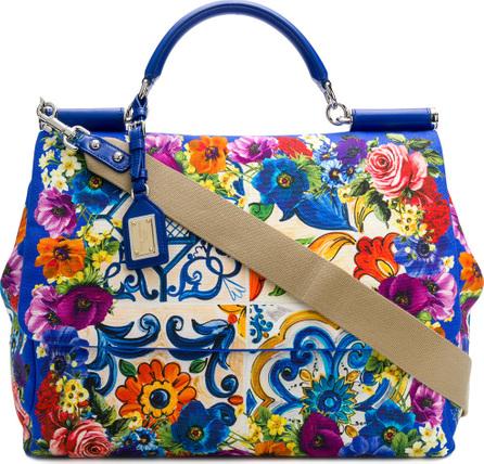 Dolce & Gabbana Grande Sicily printed bag