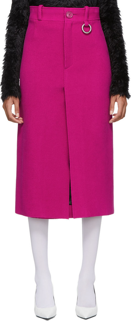 Balenciaga Pink Pleat Skirt