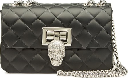 Philipp Plein Quilted Shoulder Bag with Crystals
