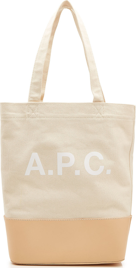 Axel Shopper in Canvas and Leather
