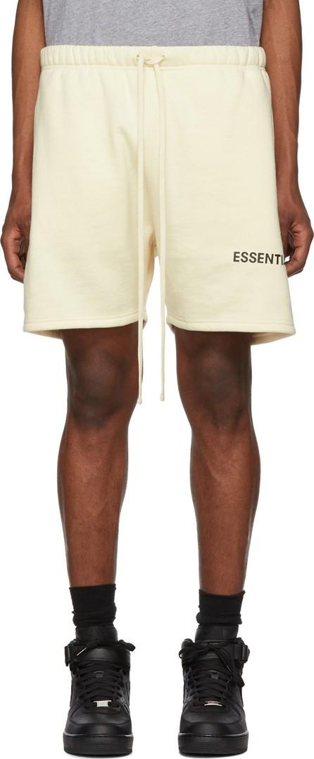 Essentials Off-White Fleece Sweat Shorts