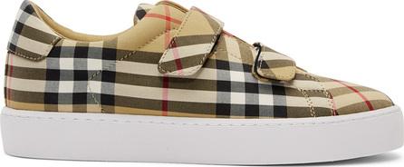 Burberry Beige Alexandra Check Sneakers Wq0Qw
