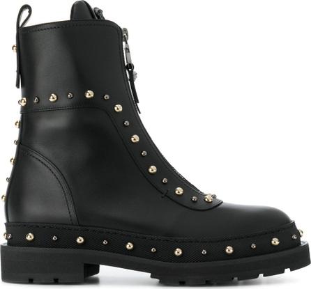 Versace Studded combat boots