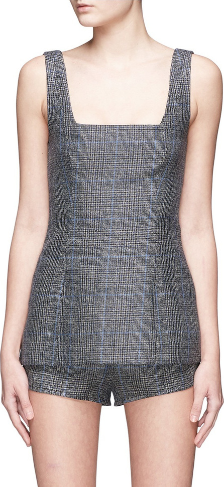 Georgia Alice 'Highway' check plaid sleeveless top