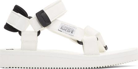 Suicoke White Depa Sandals