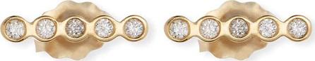 Zoe Chicco 14k Tiny Straight Diamond Bar Stud Earrings