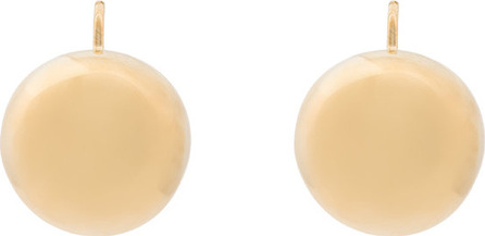 Beaufille 10k yellow gold plated small Scoop earrings