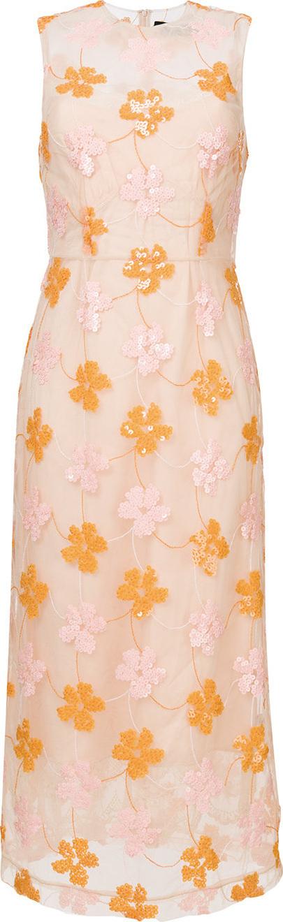 Simone Rocha Sequin floral dress