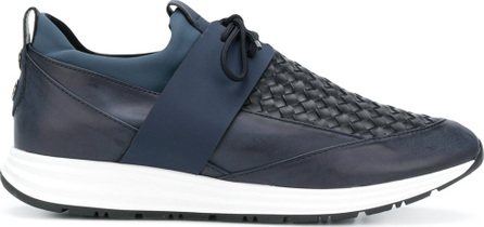 Alexander Smith Woven detail sneakers
