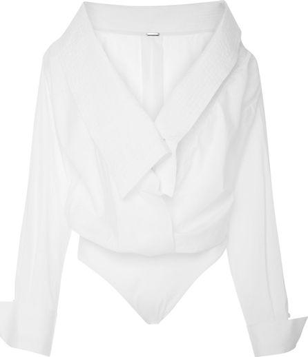 Johanna Ortiz Alida Cotton Poplin Bodysuit