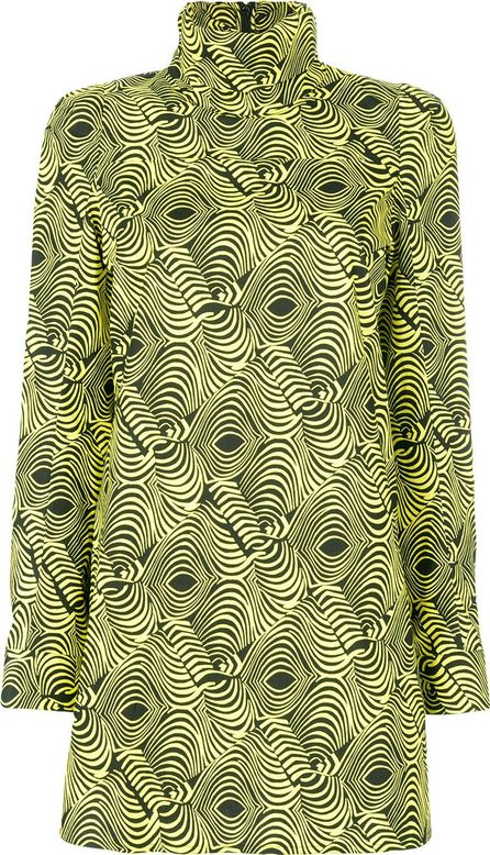 Marni printed tunic blouse