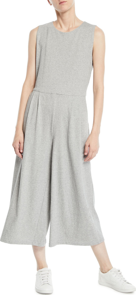 Eileen Fisher Sleeveless Speckled Knit Jumpsuit