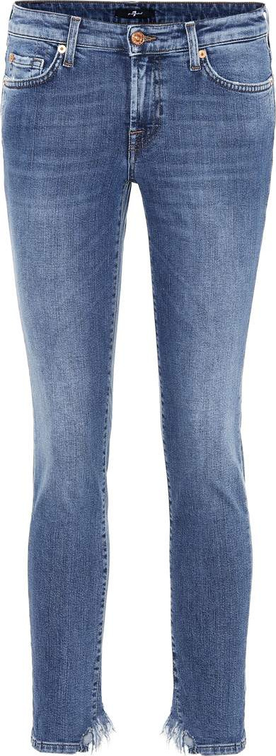 7 For All Mankind Pyper Crop cigarette jeans