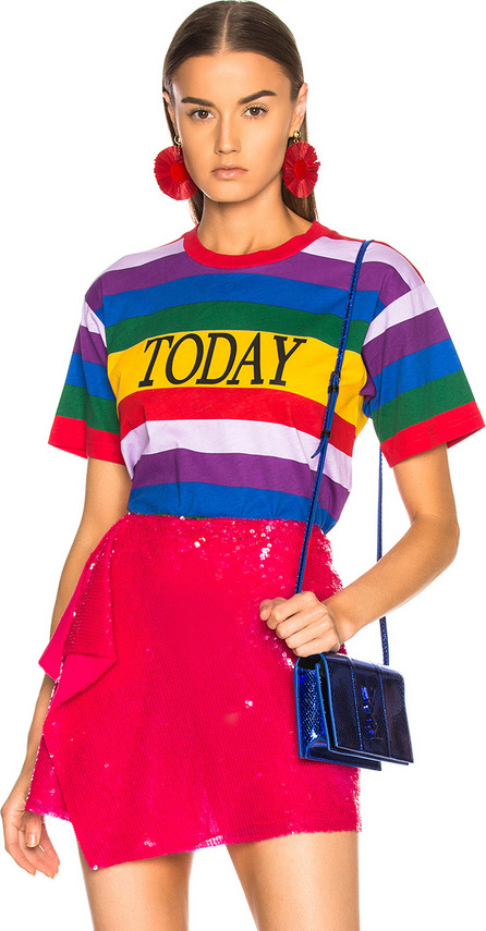 Alberta Ferretti Today Striped Tee