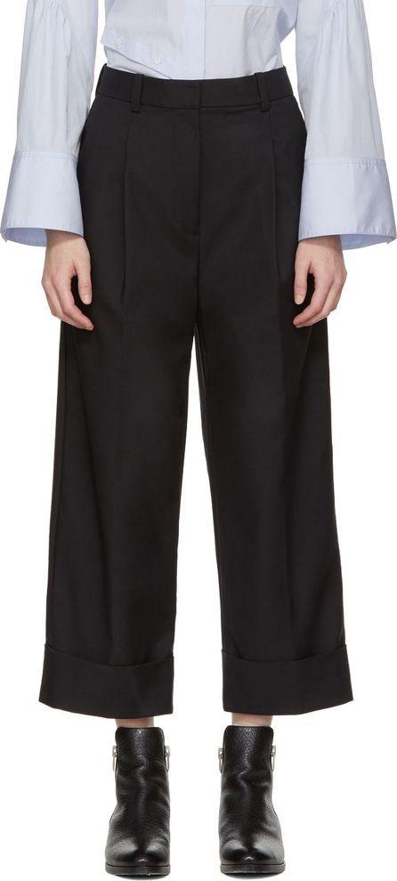 3.1 Phillip Lim SSENSE Exclusive Black Wide-Leg Trousers