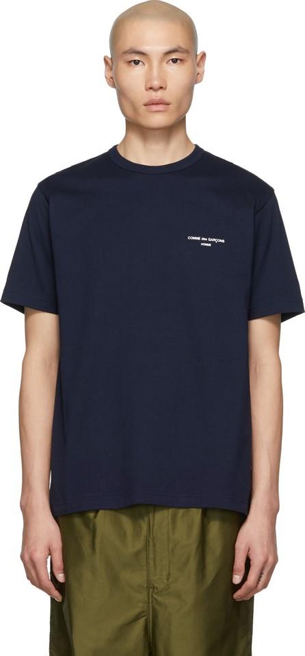 Comme des Garçons Homme Navy Logo T-Shirt
