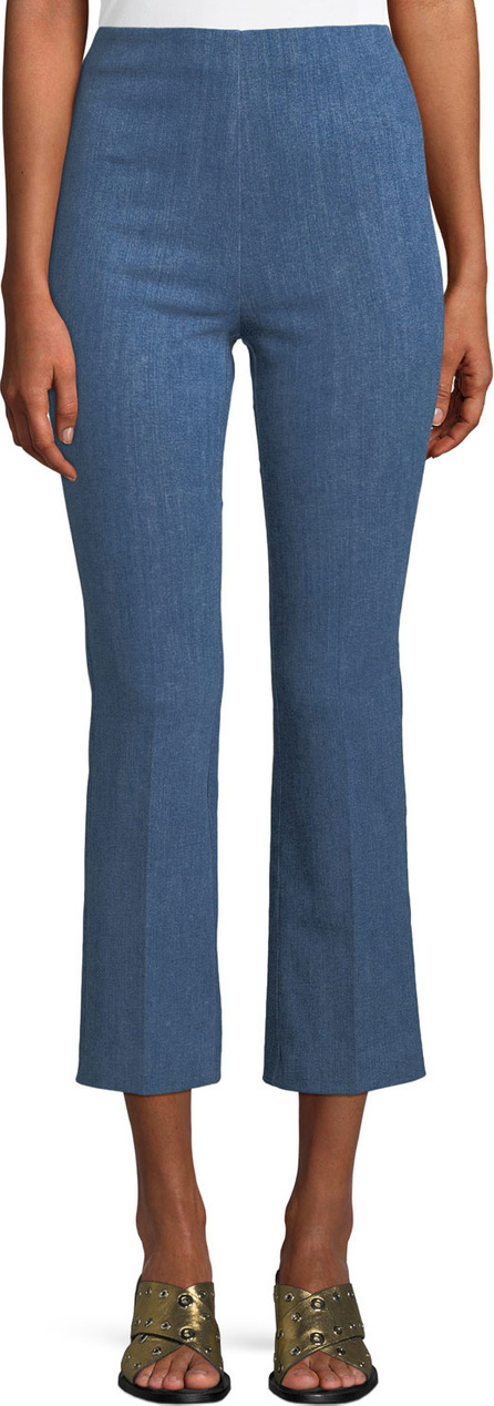 Rag & Bone Hina Cropped Straight-Leg Pants