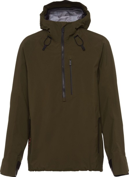 Prada Technical hooded jacket
