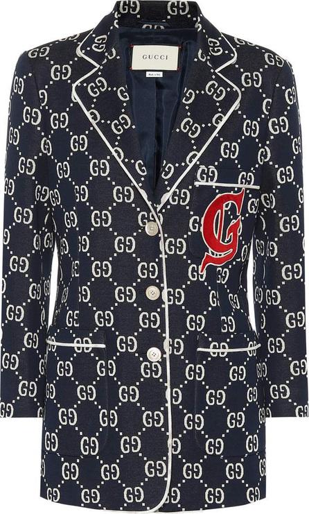 Gucci GG jersey blazer