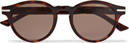 CUTLER AND GROSS Round-Frame Tortoiseshell Acetate Sunglasses