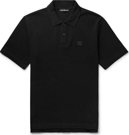 Acne Studios Elton Cotton-Piqué Polo Shirt