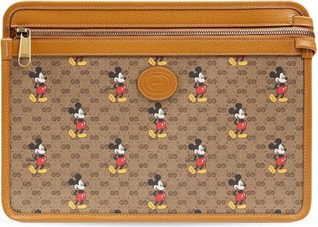 Gucci X Disney GG pattern clutch