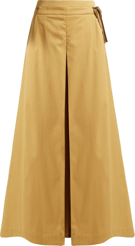 palmer//harding Sundance cotton-blend wide-leg trousers