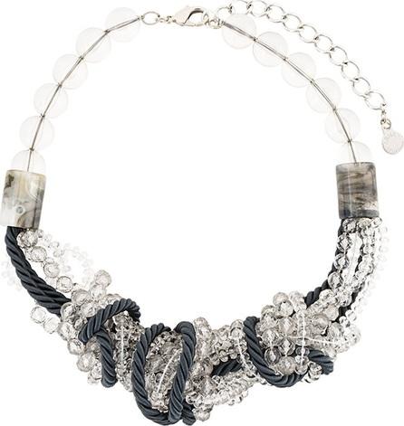 Armani Collezioni rope beaded necklace