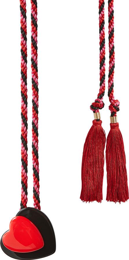 Philosophy Di Lorenzo Serafini Woven Belt with Tassels