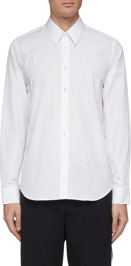 Helmut Lang Metallic logo print back shirt