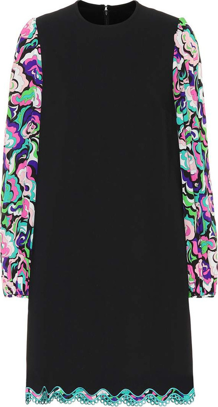 Emilio Pucci Silk-blend dress