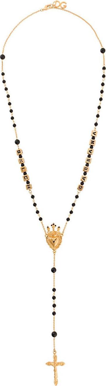 Dolce & Gabbana Embellished rosary beads