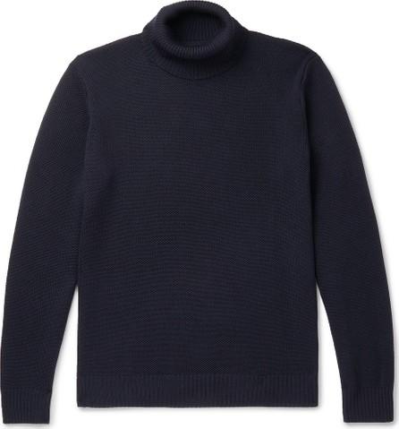 De Bonne Facture Wool-Piqué Rollneck Sweater