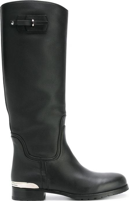 Ermanno Scervino silver-tone detail boots