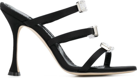 Manolo Blahnik Nudosa 105mm strappy sandals