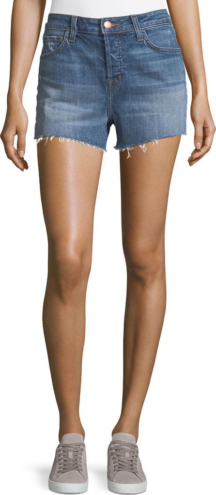 J BRAND Gracie High-Rise Shorts, Metropolis