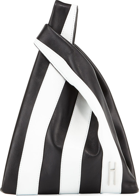 Hayward Mini Striped Shopper Tote Bag