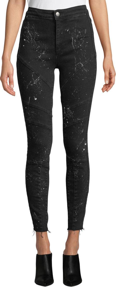 Acynetic Jennie Rock Splattered High-Rise Skinny Jeans