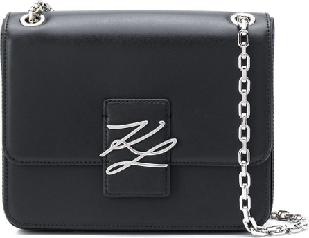 Karl Lagerfeld K/Autograph logo shoulder bag