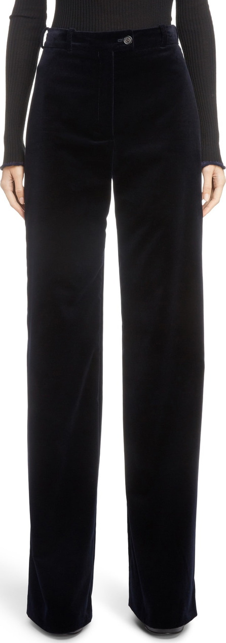 Acne Studios Wide Leg Velvet Pants