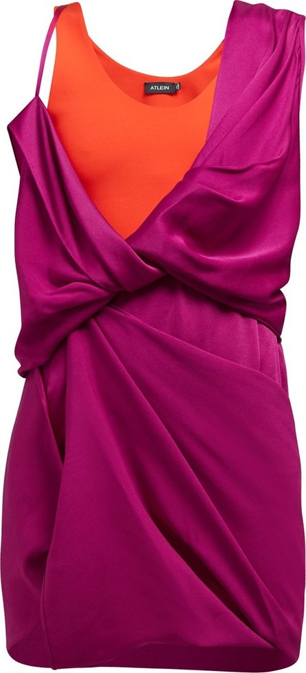Atlein HYBRID DRAPED DRESS