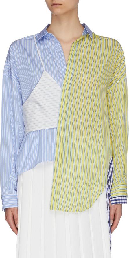 Enfold Camisole panel asymmetric patchwork shirt