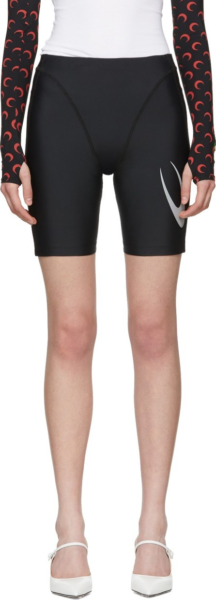 Marine Serre Black Cycling Shorts