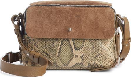 Isabel Marant Tinken Leather & Suede Crossbody Bag