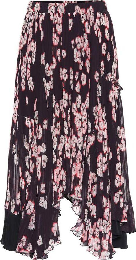 Isabel Marant - Wilny pleated crêpe skirt