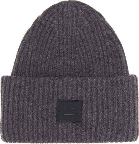 Acne Studios Pansy Face wool-blend beanie